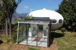 В Новой Зеландии продается дом в форме космического корабля
