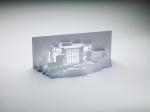 Альбом с бумажными моделями-киригами зданий Фрэнка Ллойда Райта выпущен к 150-летию со дня рождения архитектора