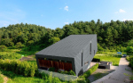 Частная вилла Suheon-Jung House. Фотография предоставлена компанией RHEINZINK