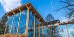 Завершено строительство самого высокого деревянного офиса в России