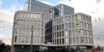 На Политехнической завершили строить стеклянно-балочный бизнес-центр