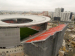 Стадион в Екатеринбурге раскритиковали за «одинокую трибуну»