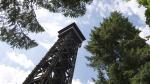 Башня Гёте сгорела во Франкфурте-на-Майне