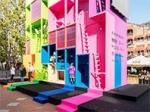Кислотный дом-трансформер представили голландские архитекторы в качестве микро-жилья будущего