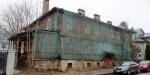 Старинное деревянное здание на Малой улице в Пушкине снесут