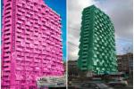 Самарцы предлагают перекрасить дом-«кукурузу» в кислотные цвета