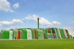 Разноцветные фасады и кровли Kalzip – для современных индустриальных зон