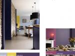 Dulux представляет: цвет в интерьере – Фиолетовый