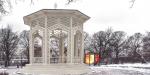 В Парке Горького открылась знаменитая ажурная беседка