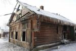 В Новой Ладоге горел еще один деревянный дом-памятник
