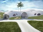 Дом за час: надувное строительство из бетона