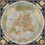 В сеть выложили оцифрованную карту мира эпохи Возрождения. Её площадь в натуральную величину – 7,5 м2