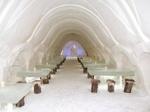 Вырезанный изо льда финский отель номинирован на Luxury Restaurant Awards