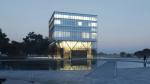 Архитектура: Современное здание над бункером времён Второй мировой