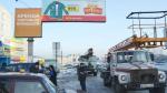 Бийск очищают от самодельных баннеров-зазывалок