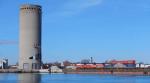 Неудачный снос башни в датском порту