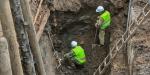 Фундамент церкви и участок мостовой: что нашли при раскопках в центре Москвы
