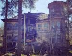 В Сестрорецке обрушилась историческая дача Кочкина