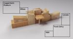 Анимационная летопись: постройки притцкеровских лауреатов в виде деревянного конструктора
