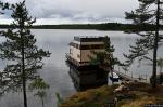 «Плавающие дома-отели» для туристов появляются в Карелии