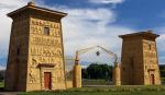 Египетские ворота открылись после реставрации