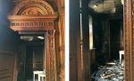 Памятник архитектуры середины XIX века в Петербурге серьезно пострадал от пожара