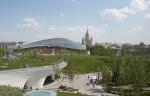 """Гостиница в """"Зарядье"""" станет многофункциональным пространством с современным фасадом"""