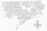 Исследователь из США придумал удивительную визуализацию, объясняющую устройство городов. А мы с ее помощью посмотрели на российские!