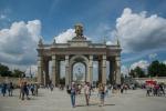 Завершена реставрация арки Главного входа на ВДНХ – Собянин