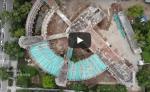 Разрушения ужасны: Фабрику-кухню сняли на видео с высоты птичьего полёта