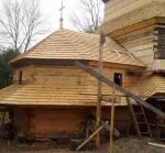 На Львовщине завершают реставрацию 300-летней церкви-памятника национального значения