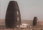 NASA показало проекты домов для будущих поселенцев Марса