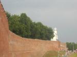 В Великом Новгороде по гарантии отремонтируют 500-летнюю стену кремля