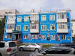 Из трёхэтажного дома в Астане создали произведение современного искусства