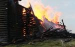 Пожары деревянных церквей в России. Досье