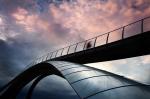 Пешеходный мост как индикатор уровня развития архитектуры