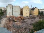 В центре Петербурга снесли здание Красноармейского телефонного узла. Вместо него построят элитное жилье