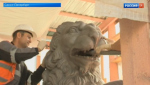В Петербурге завершается реставрация Львиного моста