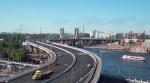 Мост Бетанкура — самая современная переправа Петербурга