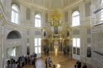 В Большом Меншиковском дворце после 15 лет реставрации открыли церковный павильон