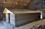 Армия США тестирует бетонную казарму, созданную при помощи 3D-печати