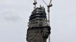 В Индии достраивают самую высокую статую в мире