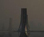 Башни, очищающие воздух Дели от смога