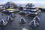 Итальянский архитектор представил жилье в виде плавучих пирамид