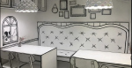 В Корее построили кафе с 2D-интерьерами