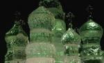 Ледяной собор Василия Блаженного украсил центральную площадь Лондона