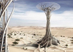 Небоскрёб в пустыне