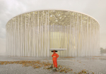 Steven Chilton Architects спроектировали театр в виде бамбукового леса для китайского Уси