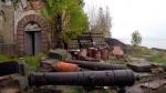 Вандалы разбирают на детали северный форт в Кронштадте