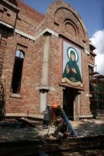 От горожан Ефросинье Московской. В столице строится храм покровительницы Москвы